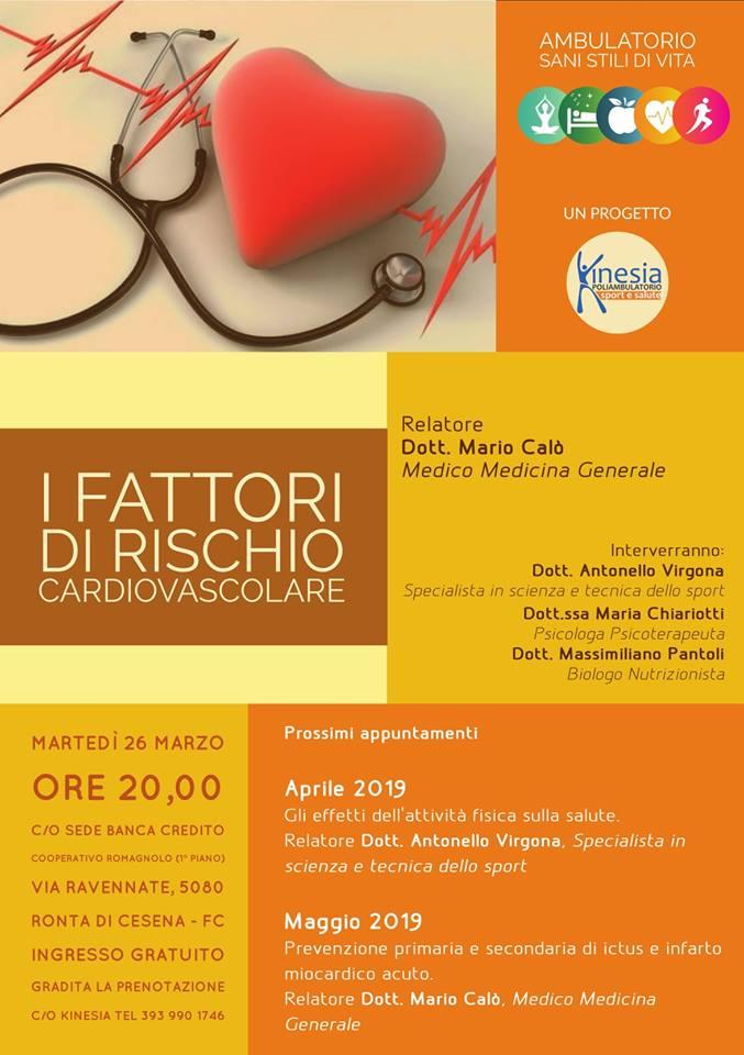 I fattori di rischio cardiovascolare