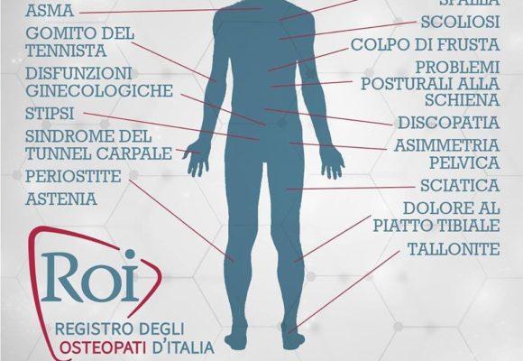 L'osteopatia e i suoi campi di applicazione