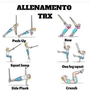 TRX: ottimo strumento di allenamento